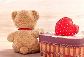 teddy bears for valentines day valentines day teddy alone waiting stock photo