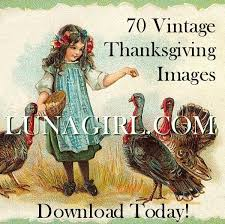 vintage thanksgiving vintage images pictures