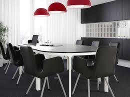 chaise salle de réunion noir et blanc et moderne ikea