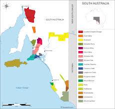 Regions Of Africa Map by Australia Map Of Vineyards Wine Regions
