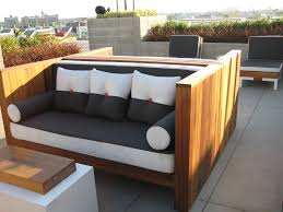 Modern Outdoor Patio Furniture Want To Make This And Use My 2 Crib Mattresses For Seat Cushions