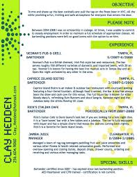 resume for bartender position available flyers bartender resume exles resumes sles server templates