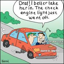 how to fix check engine light road worthy cartoons and comics funny pictures from cartoonstock