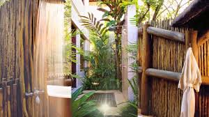 Bathrooms With Showers by 21 Beautiful Outdoor Bathrooms With Showers Youtube
