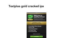textplus gold apk textplus gold cracked ipa docs