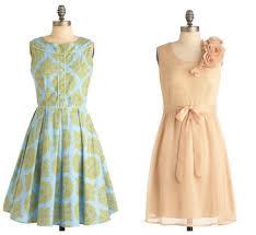 vintage bridesmaid dresses rustic wedding chic
