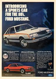ford mustang ads a sports car for the 80s ford mustang 1980