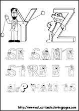 free printable coloring pages sesame street coloring sheets