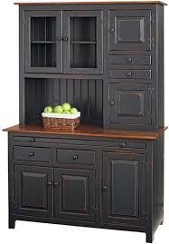 pleasurable inspiration black kitchen hutch sideboards