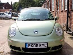 2006 beetle convertible 1 6 cyber green black hood ac 76 000 miles