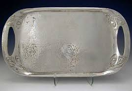 pewter platter liberty tudric pewter tray archibald