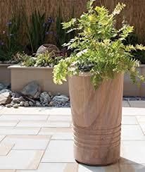 large garden planter polished rainbow plant pot amazon co