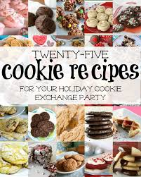 remodelaholic 25 cookie exchange recipes for the holidays