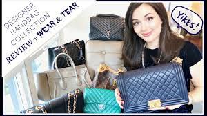 View Luxury Designer Bags Designer Handbag Collection Review Wear U0026 Tear Update Youtube