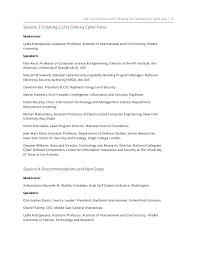 conference paper u201cbridging the cybersecurity talent gap u201d
