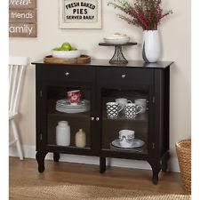 black contemporary sideboards buffets u0026 trolleys ebay