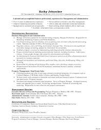 resume sle template manager qa resume resumes templates assistant property sle