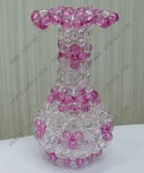 craft for home decor crystal handmade vase craft for home decoration hp002 wholesale