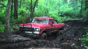 Ford Trucks Mudding Lifted - watch this sharp looking 1979 ford f150 truck mudding