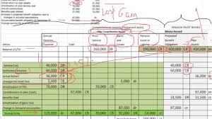 Spreadsheet Components Pension Spreadsheet Youtube