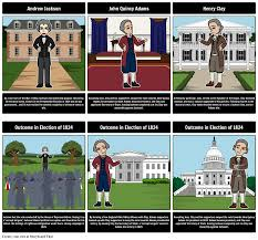 jacksonian democracy lesson plans jacksonian era the election of 1824 a corrupt bargain