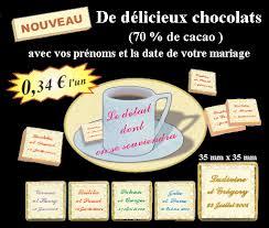 chocolat personnalisã mariage articles pour noël et nouvel an des cadeaux personnalisés pour