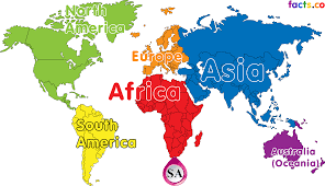 Map South Africa South Africa On World Map South Africa On World Map South