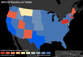 Texas Election Map by Floatingsheep Can Twitter Predict The Us Presidential Election