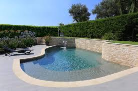 petite piscine enterree piscine enterrée sur mesure piscines diffazur