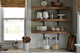kitchen shelves decorating ideas kitchen shelf ideas kitchen storage ideas with wall shelves and
