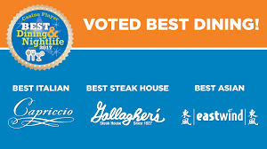 Mohegan Sun Floor Plan 2017 Best Of Nightlife U0026 Restaurant Awards Resorts Atlantic City