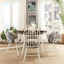 oxford creek montrose 5 piece dining set in white home