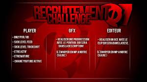 challenge ps3 challenge recrutement voaq ps3 ou xbox killfeed ou trikshot