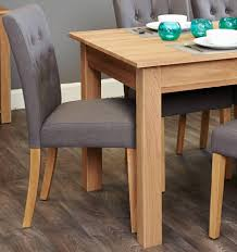 6 seater patio furniture set baumhaus mobel oak 6 seater table and chair set 4