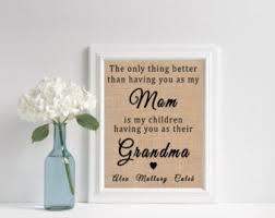 gifts for grandmothers grandmother etsy