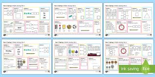 year 2 spring 1 maths activity mats spring maths mats year