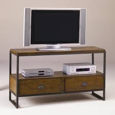 Tv Table Ideas Furniture Wooden Tv Table With Dvd Stand And Drawers By Hammary