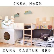 Ikea Tuffing Bunk Bed Hack Kura Castle Bunk Bed Ikea Hackers Ikea Hackers