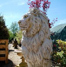 lions statues for sale new replica or reproduction pair of large lion statues salvo uk