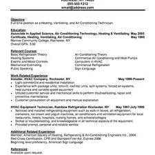 Hvac Resume Template Maintenance Manager Resume Sample Resume Examples For Managers