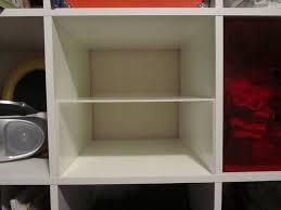 Ikea Cube Shelving by My Expedit Half Shelf Ikea Expedit Shelves And Ikea Hack