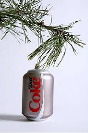 junkfood branded trees coke ornament and