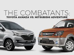 adventure mitsubishi 2017 car wars toyota avanza vs mitsubishi adventure toyota motors