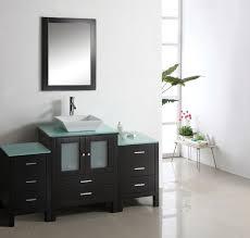 modern single sink vanity bathroom design modern single sink bathroom vanity cabinet glass w