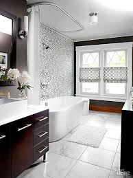 black tile bathroom ideas black and white bathroom ideas