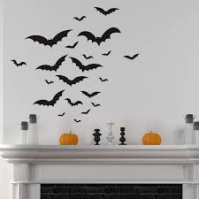 halloween bats wall sticker set by nutmeg notonthehighstreet com