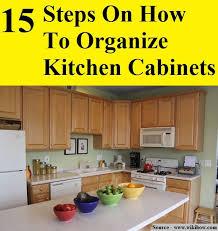 How To Organize Kitchen Cabinet Best 25 Organize Kitchen Cupboards Ideas On Pinterest Pan
