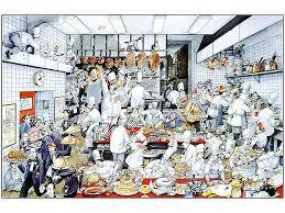 le chef en cuisine poster la cuisine de roger blachon 63 x 90 5 cm meilleur du