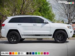 jeep grand cherokee stickers sticker decal vinyl stripes for jeep grand cherokee trailhawk 2017