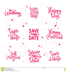 wedding quotes set wedding quotes calligraphy stock vector illustration of